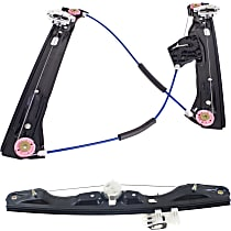 Window Regulator - Front and Rear, Driver Side, Power without Motor