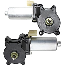 Window Motor - Driver and Passenger Side, With 2-Prong Connector