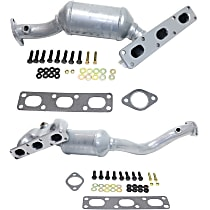 Catalytic Converter Front and Rear, For Models with 2.5L & 3.0L Eng California Emissions 47-State Legal (Cannot ship to CA, NY or ME)