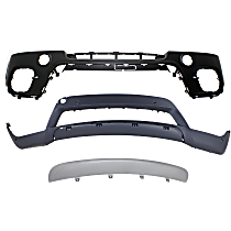CAPA Certified Front, Upper and Lower Bumper Cover
