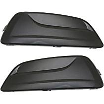 Driver and Passenger Side Fog Light Cover, Primed