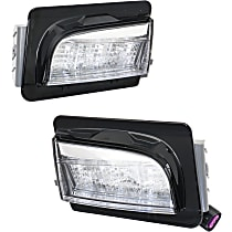 Driver and Passenger Side Driving Light - With SML