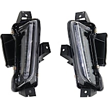 CAPA Certified Driver and Passenger Side Driving Light