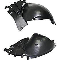 Fender Liner - Front, Driver and Passenger Side, Front Section