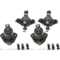 Ball Joint - Front, Driver and Passenger Side, Upper and Lower