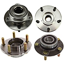 Wheel Hub - Front and Rear, Driver and Passenger Side