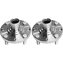 Front, Driver and Passenger Side Wheel Hub Bearing not included - Set of 2