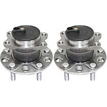 Rear Wheel Hub And Bearing Assembly, Driver and Passenger Side For FWD Models
