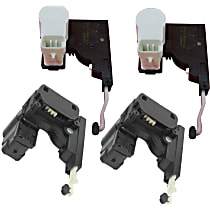 Door Lock Actuator Front and Rear, Driver and Passenger Side