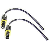 Replacement SET-REPC381202-2 Speed Sensor Harness - Direct Fit, Set of 2 Rear