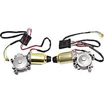 Driver and Passenger Side Headlight Motor, New