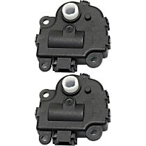 Replacement SET-REPC410203 Heater Blend Door Actuator, Set of 2