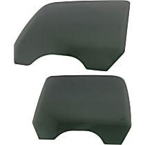 Rear, Driver and Passenger Side Door Glass, Gray Tint Privacy, Crew Cab Pickup
