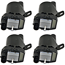 Ignition Coil Round Type - Set of 4