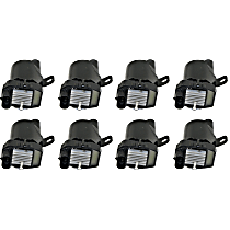 Ignition Coil Round Type - Set of 8