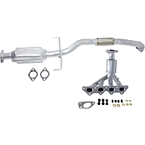 Catalytic Converter - 47-State Legal (Cannot ship to CA, NY or ME) - Front and Rear
