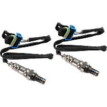 Oxygen Sensor - Before and After Catalytic Converter, Front or Rear, Set of 2
