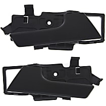 Interior Door Handle - Front or Rear, Driver and Passenger Side, Textured Black