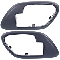 Door Handle Trim, Blue