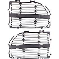 Grille Insert - Silver, Driver or Passenger Side, R/T/SXT Models