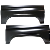 Replacement Wheel Arch Repair Panel - SET-REPD262901 - Driver and Passenger Side, Upper, Direct Fit, Set of 2