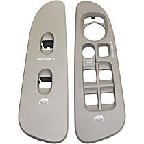 Window Switch Bezel, Front, Driver and Passenger Side