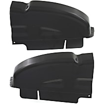 Replacement Cab Corner SET-REPD581403 - Driver and Passenger Side, Crew Cab Pickup, Direct Fit