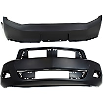 CAPA Certified Front and Rear Bumper Cover, Primed
