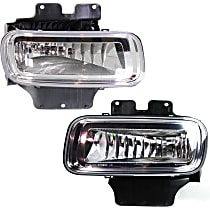 Fog Light Assembly - Driver and Passenger Side, with Mounting Bracket
