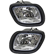 Fog Light Assembly - Driver and Passenger Side, with Daytime Running Light