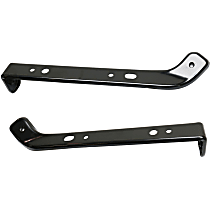 Fender Support - Front, Driver and Passenger Side, Steel, Direct Fit