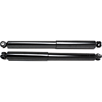 OE Replacement Rear, Driver and Passenger Side Shock Absorber - Set of 2
