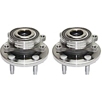 Front or Rear Wheel Bearing and Hub Assembly, Driver and Passenger Side