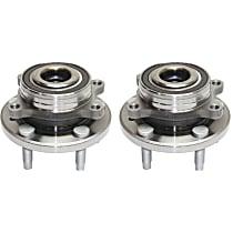 Wheel Hub With Bearing - Set of 2