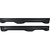 Replacement Rocker Panel - SET-REPF430119 - Driver and Passenger Side, OE Replacement, Steel, 4-Door