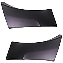 Quarter Panel Molding - Rear, Driver and Passenger Side, Without Wheel Opening Molding