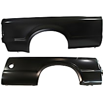 Replacement Quarter Panel - SET-REPF552125 - Driver and Passenger Side, Primed, Set of 2