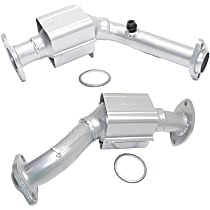 Catalytic Converter - 47-State Legal (Cannot ship to CA, NY or ME) - Firewall and Radiator Side