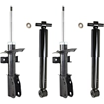 Rear OE Replacement Shock Absorber Driver and Passenger Side