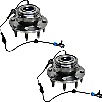Wheel Hub - Front, Driver and Passenger Side