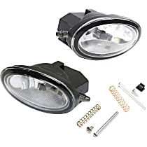 Fog Light Assembly - Driver and Passenger Side, Dealer Installed