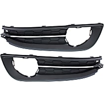 Fog Light Trim - Driver and Passenger Side, Primed, Bezel, Sedan, 2.4 Liter Engine