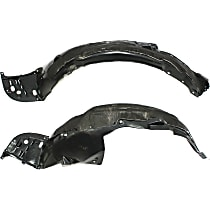 Fender Liner - Front, Driver and Passenger Side, with Insulation Foam