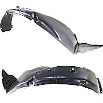 Fender Liner - Front, Driver and Passenger Side, with Turbo