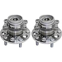 Wheel Hub Bearing included - Set of 2