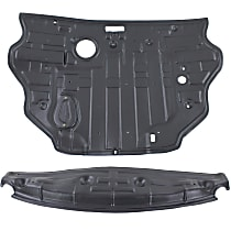 Front and Rear Engine Splash Shield