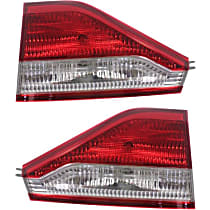 Driver and Passenger Side, Inner Tail Light, With bulb(s)