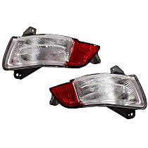 Replacement Back Up Light - SET-REPH731307 - Driver and Passenger Side, Direct Fit