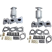 Front Radiator and Firewall Side Catalytic Converter with Integrated Exhaust Manifold For Models with 3.3L and 3.8L L Eng 46-State Legal (Cannot ship to CA, CO, NY or ME)