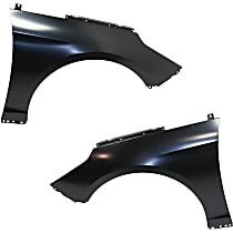 Fender - Front, Driver and Passenger Side, Except Hybrid Models